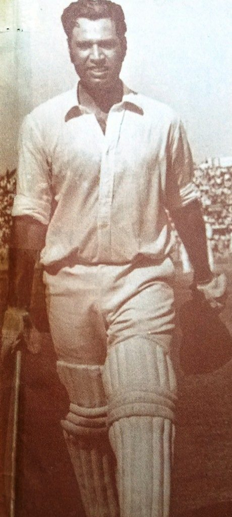 On his second overseas tour to India in 1960-61 in national colors, he once again finished as the most confident and polished Pakistani batsman.