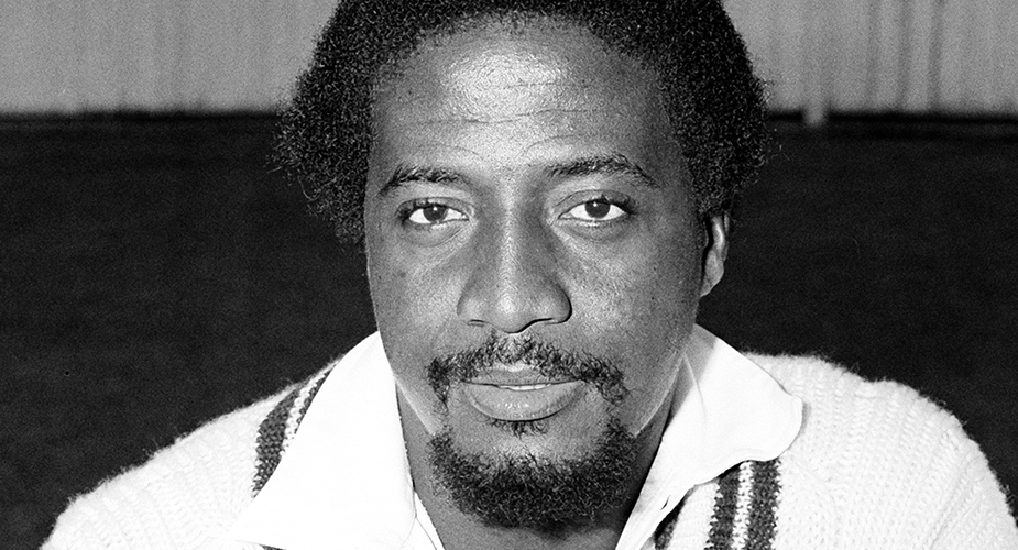 A Tall and strapping, Sylvester Clarke was right arm fast bowler with a strange, in swinger's action in which his arm came over rapidly and very high.