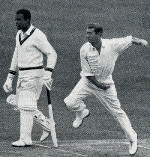 Derek Shackleton played 7 test matches for England and took record 2,669 wickets for Hampshire. Only six men have taken more than his total wickets of 2,857