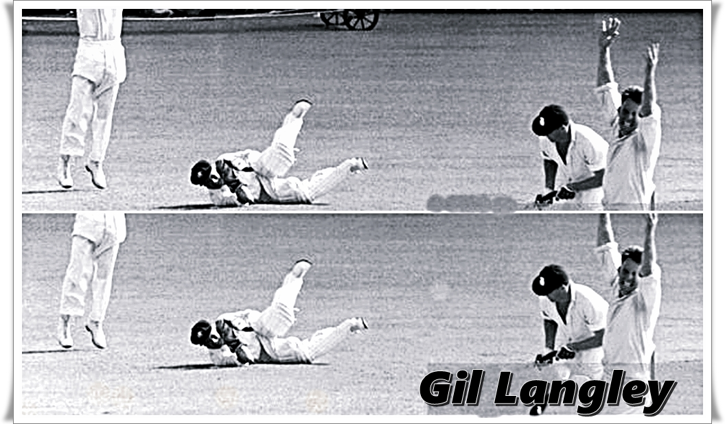 Gil Langley played 26 Tests for Australia from 1951-52 to 1956-57. In which he held 83 catches and made 15 stumping.