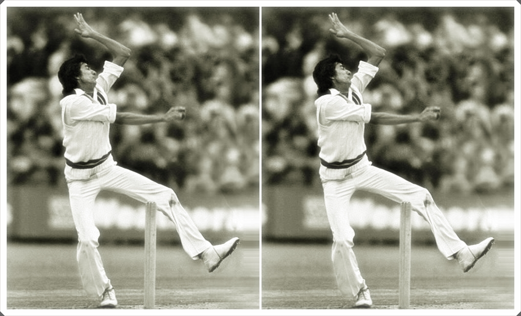 Pakistani Bowler Sikander Bakht was so lean and thin when he first appeared in international cricket hat some commentators nicknamed him The Matchstick Man.