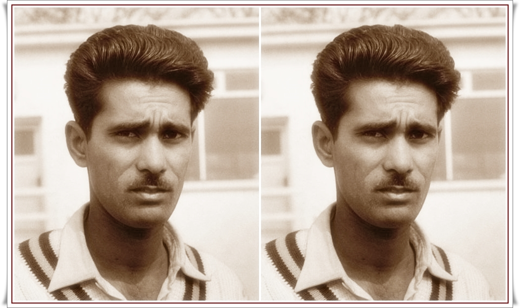 Afaq Hussain made 66 appearances at the first-class level, scoring 1,382 runs at an average of 23.82.