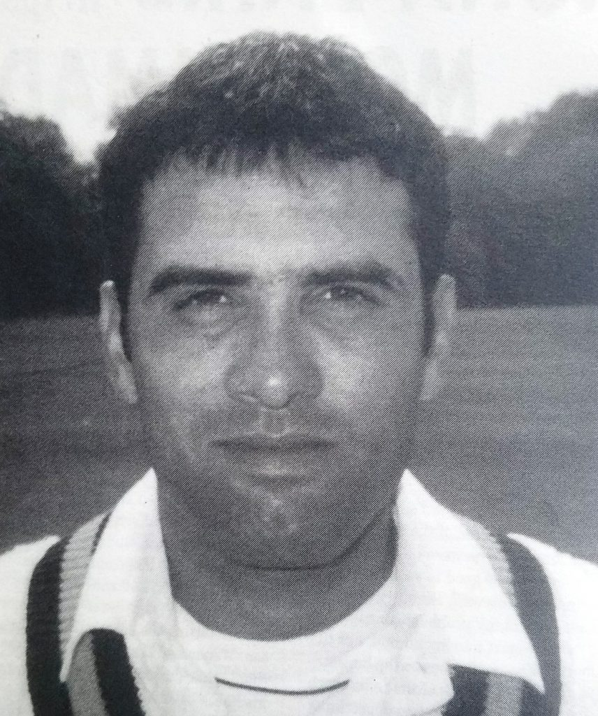 Ali Naqvi Pakistani Cricketer made a century on Test Debut against South Africa in 1997