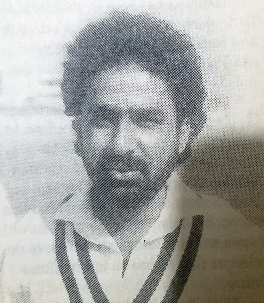 Left Arm Spinner Nadeem Ghouri