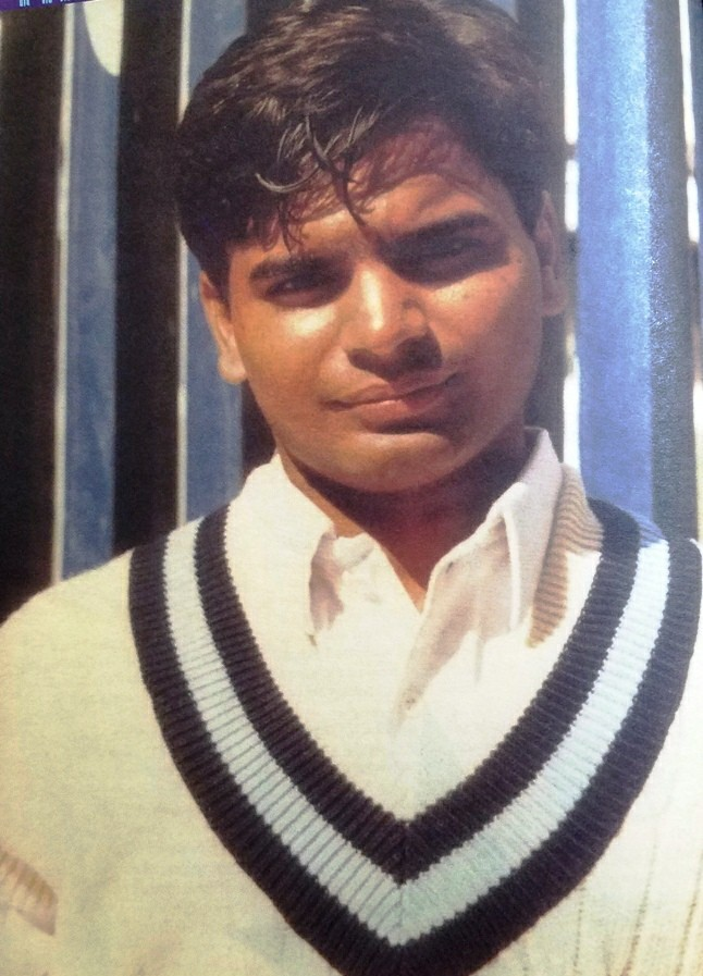 Right Hand Batsman Naveed Latif