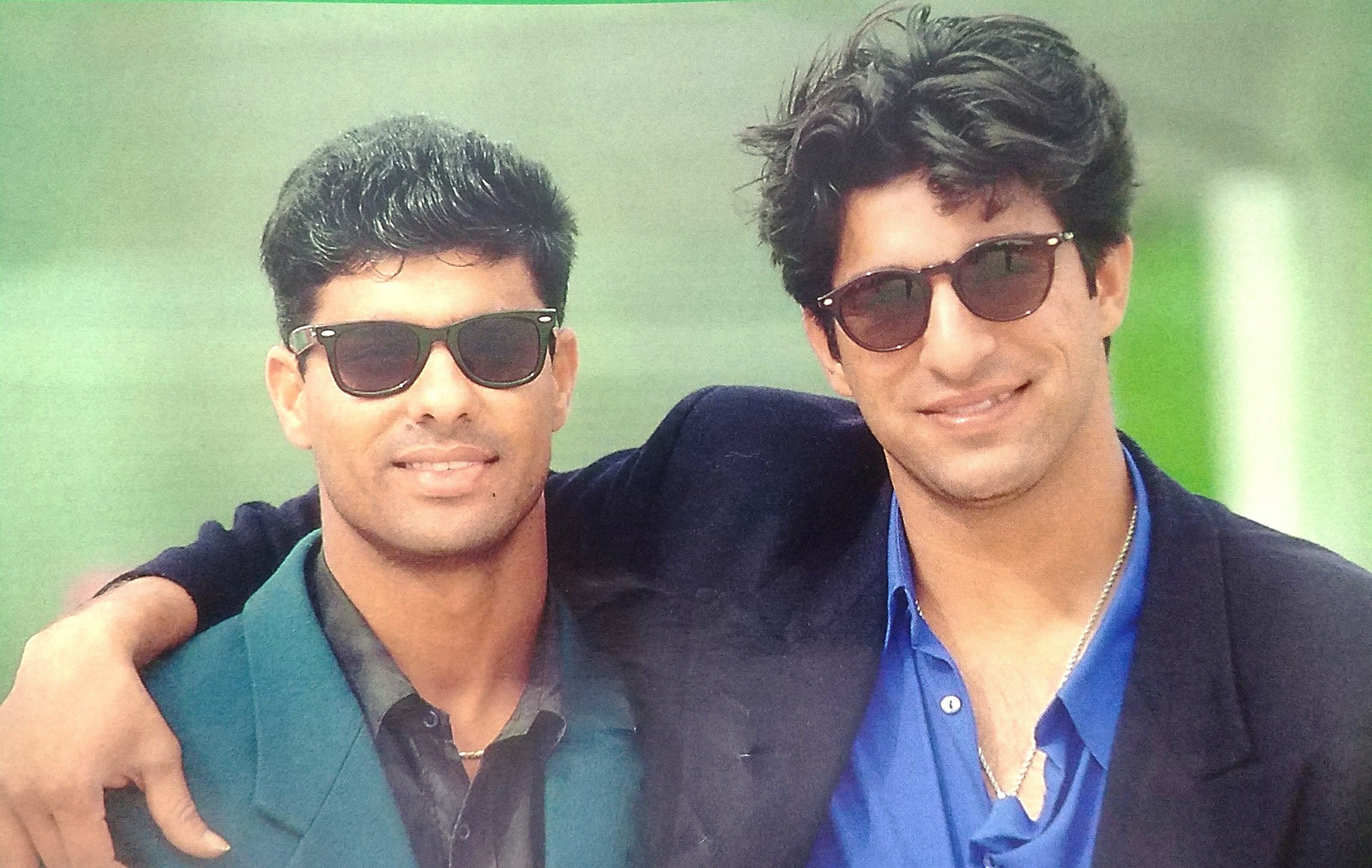 Wasim and Waqar working in tandem will remain one great picture to cherish.