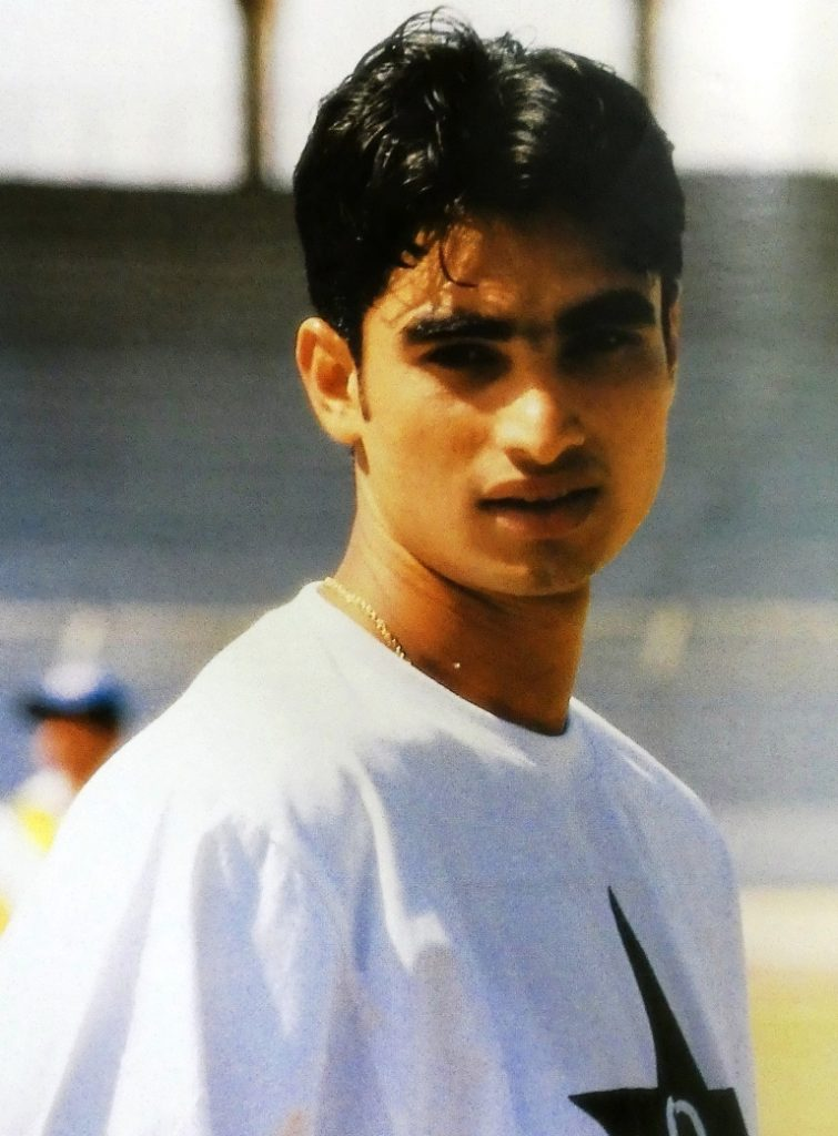 Imran was primarily an attacking opening batsman who plays for Pakistan in Test cricket, One Day International and Twenty20 cricket formats.