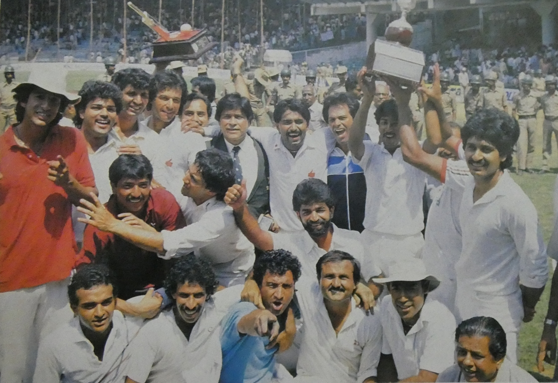 Pakistan Beat India in Test Series 1987 after Bangalore Test Match