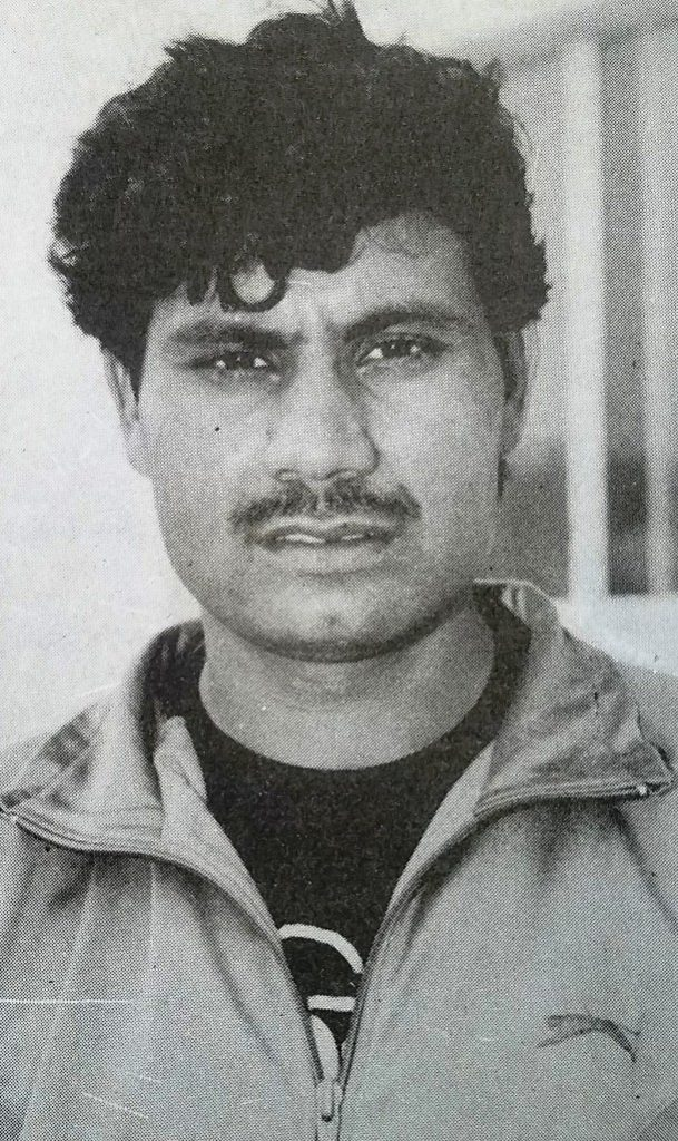 Zahid Fazal played a gallant inning of 98* against India at Sharjah on 25 Oct 1991 in the Final of Wills Trophy.