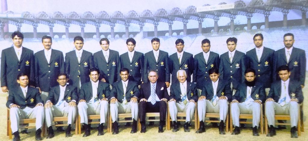 Pakistan Squad for Cricket World Cup 2003. You can see some of great cricket players ever played in the history of pakistan cricket history.