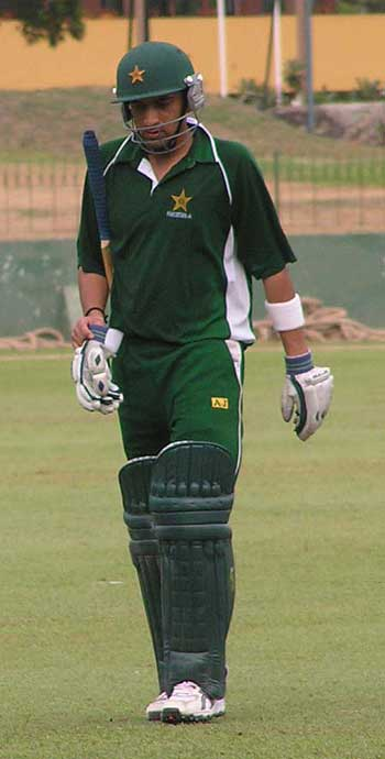 Hasan Raza, Pakistan A v Sri Lanka A, Colombo, March 29, 2005