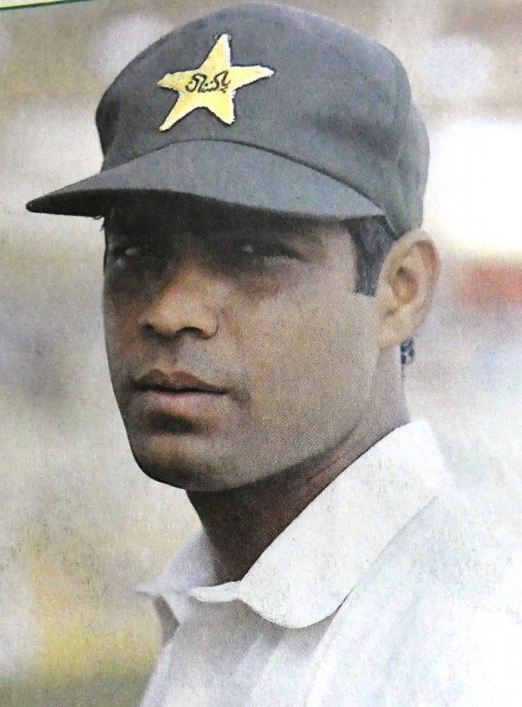 Rashid Latif selected for Pakistan on the strength of hist batting at the tour to England in 1992.