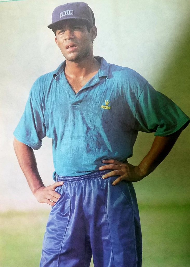 Another controversy earned more fame by announcing retirement in the middle of Pakistan tour to Zimbabwe in 1994-95 along with Basit Ali.