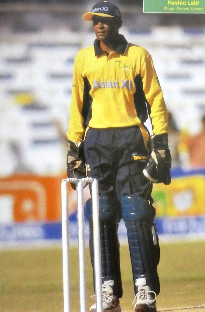 Throughout his entire career he had to compete hard with another Pakistani wicket-keeper, Moin Khan. In those days, both are having tough competition to grab final spot in the team.