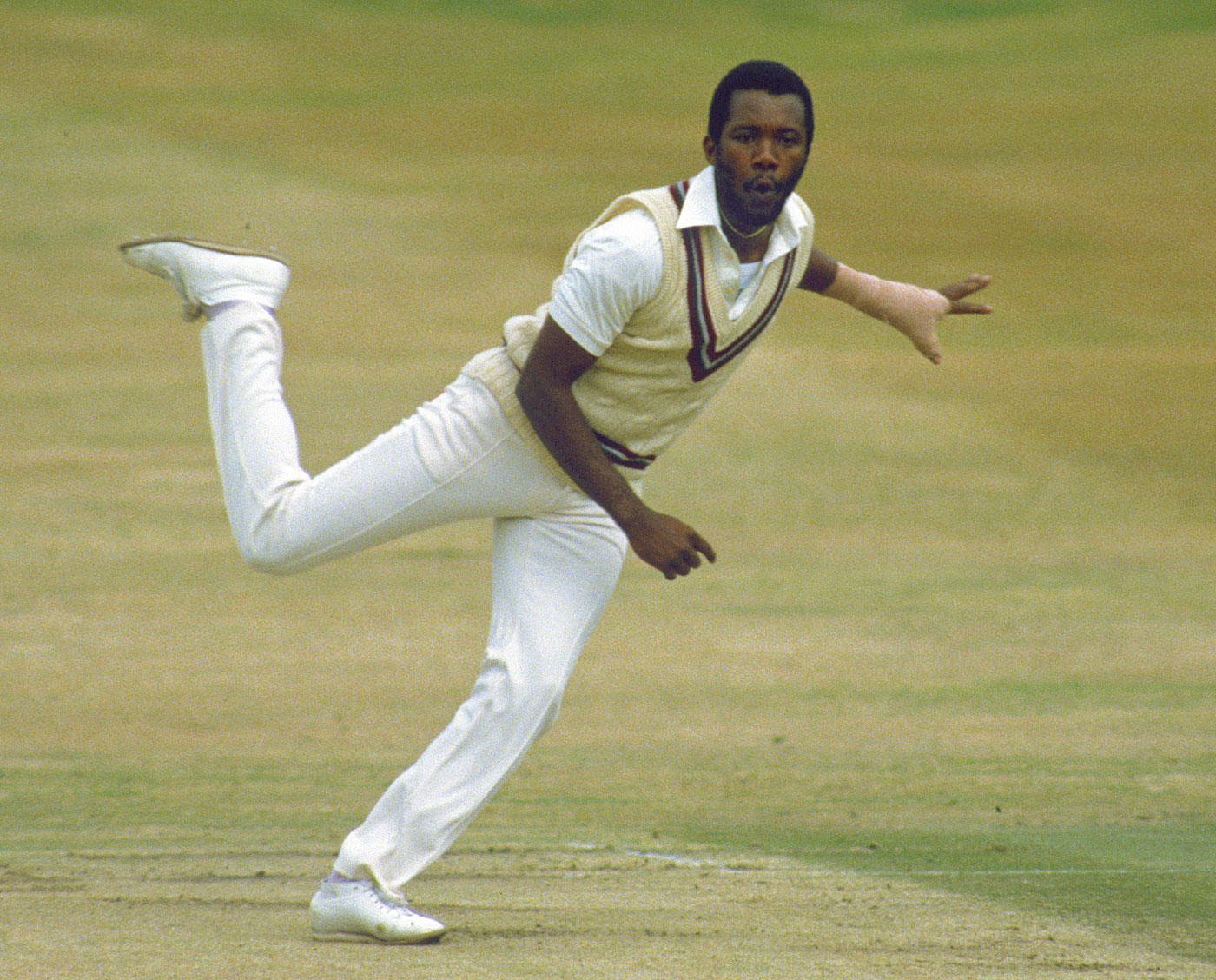 David Gower trying to pick one out, given all their strengths and differences, is not easy but the palm would have to go to nasty little Malcolm Marshall.