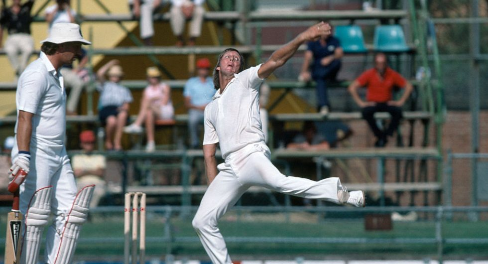 Jeff Thomson was a freak of cricketing nature. In his pomp, an exceptional athlete with elasticity of frame enabling him to deliver the ball in a way.