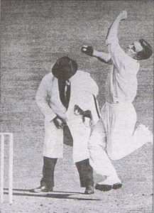 Australian Ray Lindwall raised the standard for fast bowlers in the ten years after the Second World War represented in 61 Tests from 1946-47 to 1960.