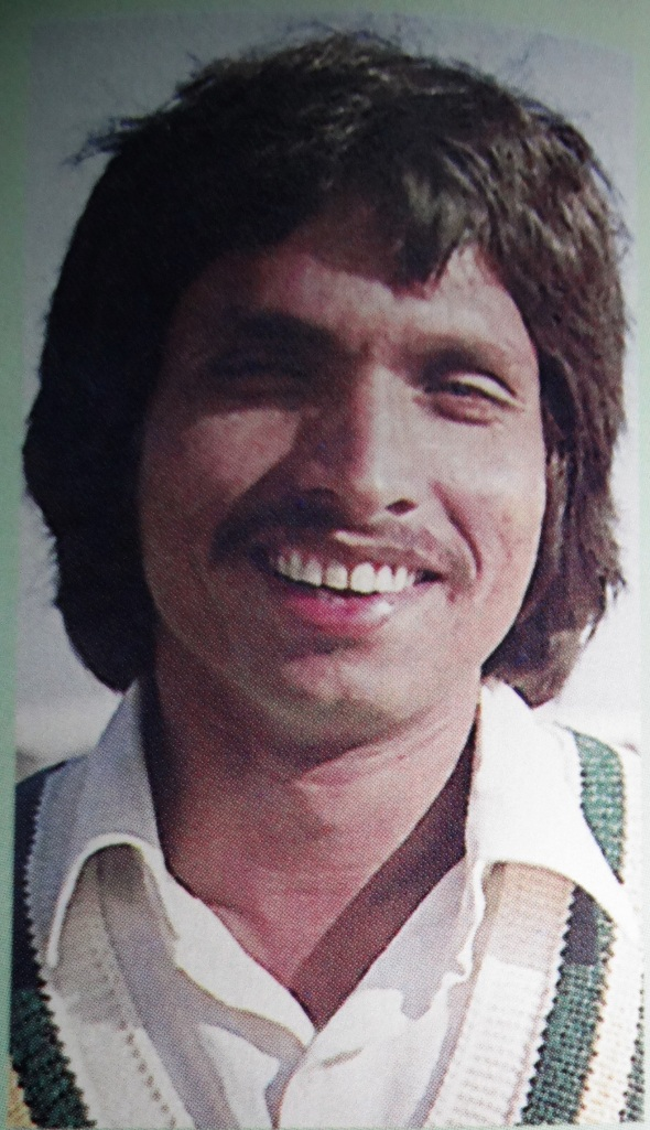 Liaqat Ali Khan was a former Pakistani Medium fast bowler born on May 21, 1955 at Karachi. He played 5 Test Matches and 3 ODI's between 1975 till 1978.