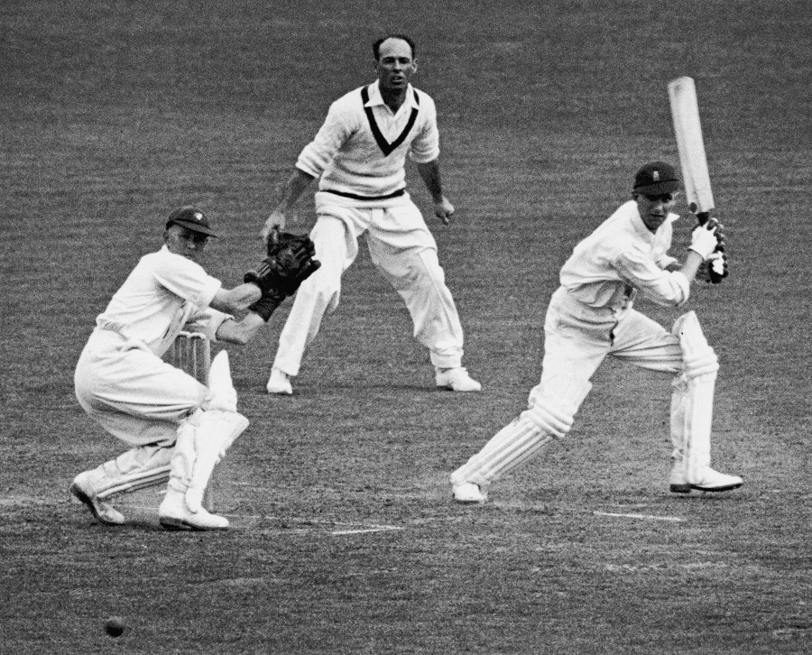 There was a heroic dimension to Len Hutton cricket career that was not always evident even with some of England's other very great batsman.
