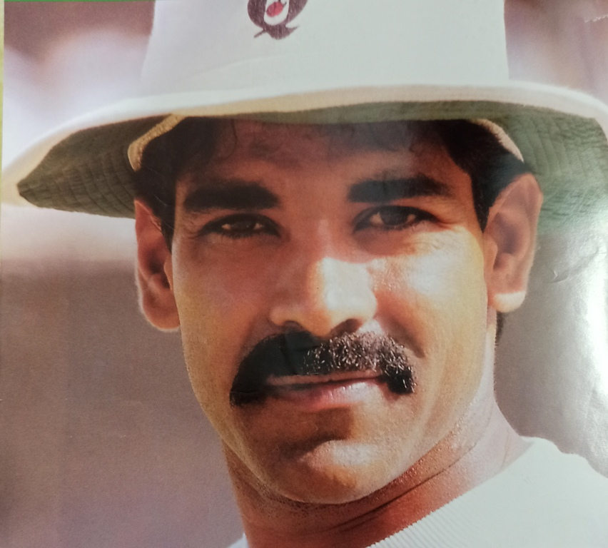 Aamer Malik was one-time Pakistan opening batsman, useful right-arm fast-medium bowler, and valuable emergency wicketkeeper.