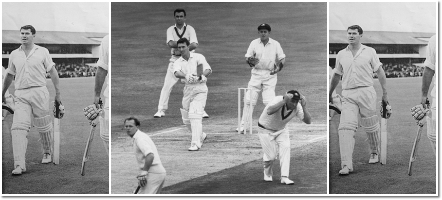 Peter Burge played 42 Tests between 1954-55 and 1965-66, scoring 2,290 runs at 38.16 with four hundred. He was a popular and extremely respected figure.