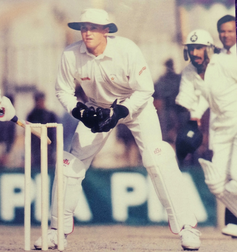 Left Handed Andy Flower was low-profile, in search of recognition and driven by passion. The Zimbabweans commit themselves to their country and the flag.