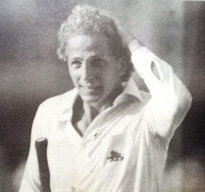 A Majestic Left Handed David Gower was an outstanding batsman of rare elegance who thrilled crowds wherever he played with wonderful wrist stroke-play.