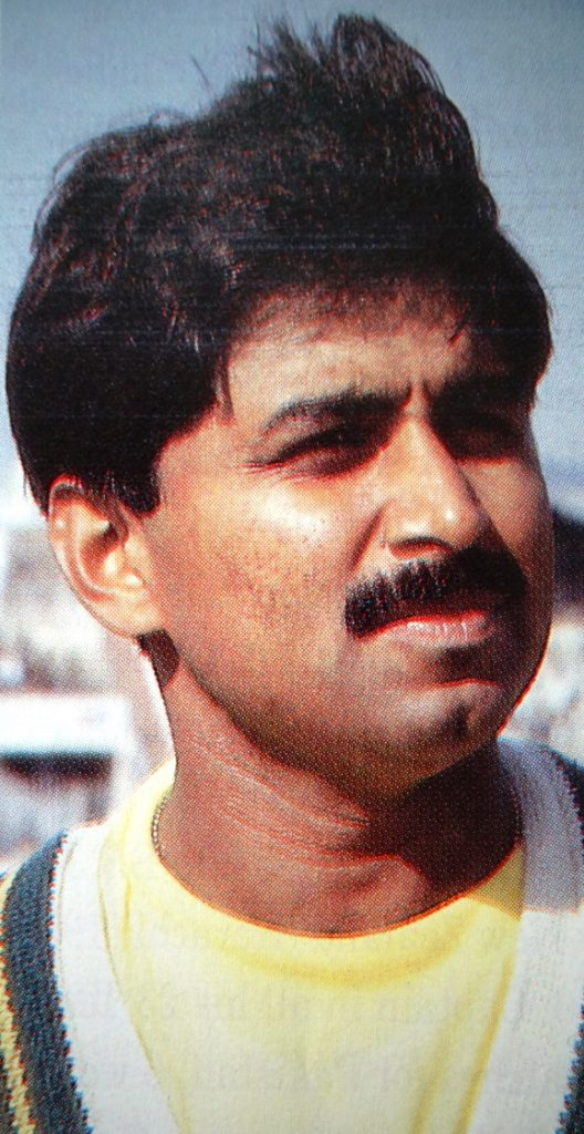 Pakistani Javed Miandad was spotted at an early age by Mushtaq Mohammad as a great player in the making.  He seemed to be born with a good & sound technique.