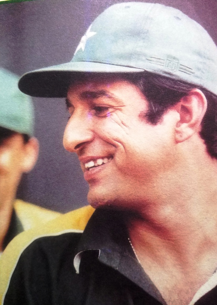 Wasim Akram was fast-tracked into the national squad at the age of 18.