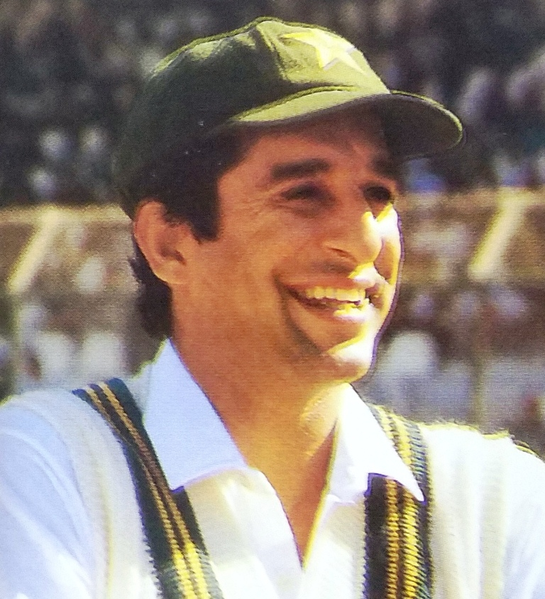 Wasim Akram had various other idiosyncrasies which hardly helped matters for the batsman.