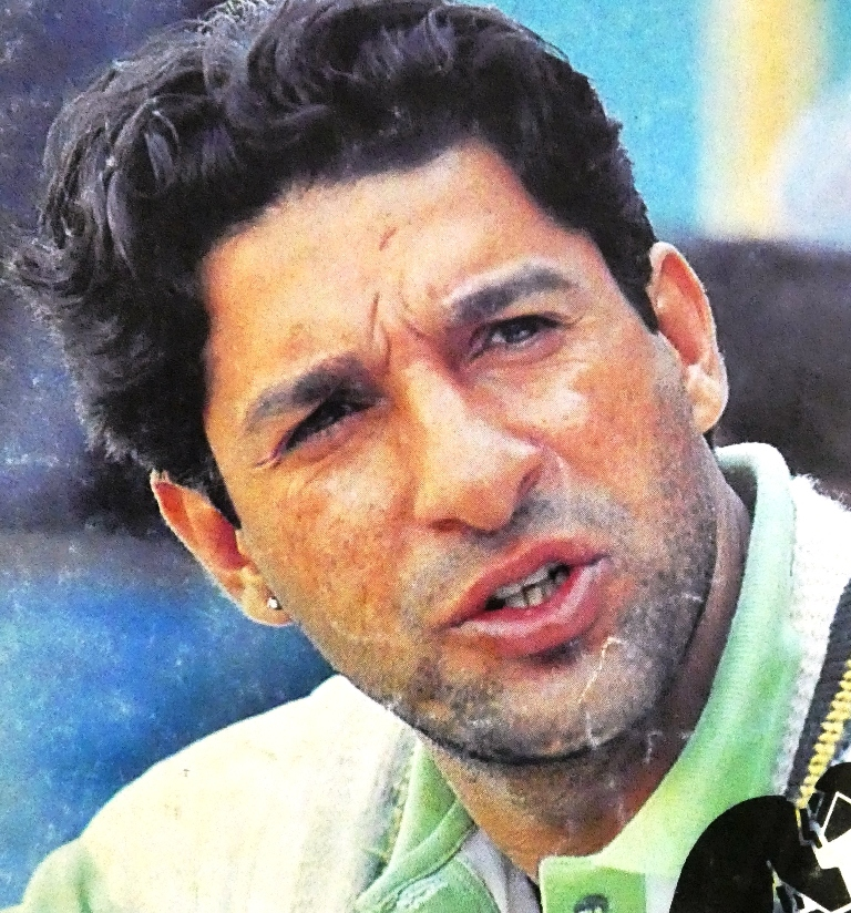 Wasim was largely uncoached until he got into the Pakistan side.