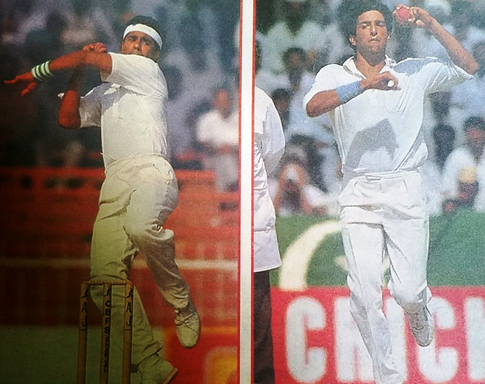They were the finest exponents of reverse swing, and Wasim was ahead of Waqar.