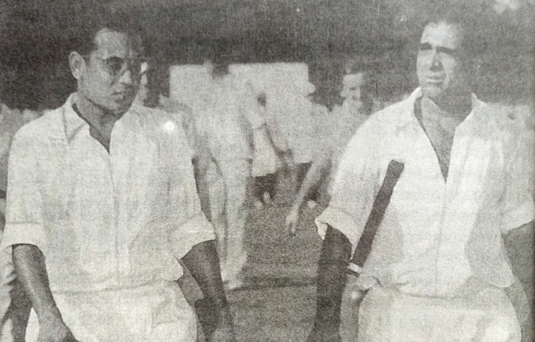 Opening Batsman Pankaj Roy was one of those who lived up to the early promise he held out. By scoring a century on debut in the Ranji Trophy in 1946-47.