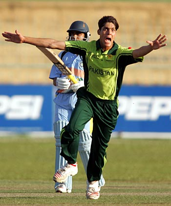 None of the top-order Indian batsmen could tackle Anwar Ali Swing Bowling.