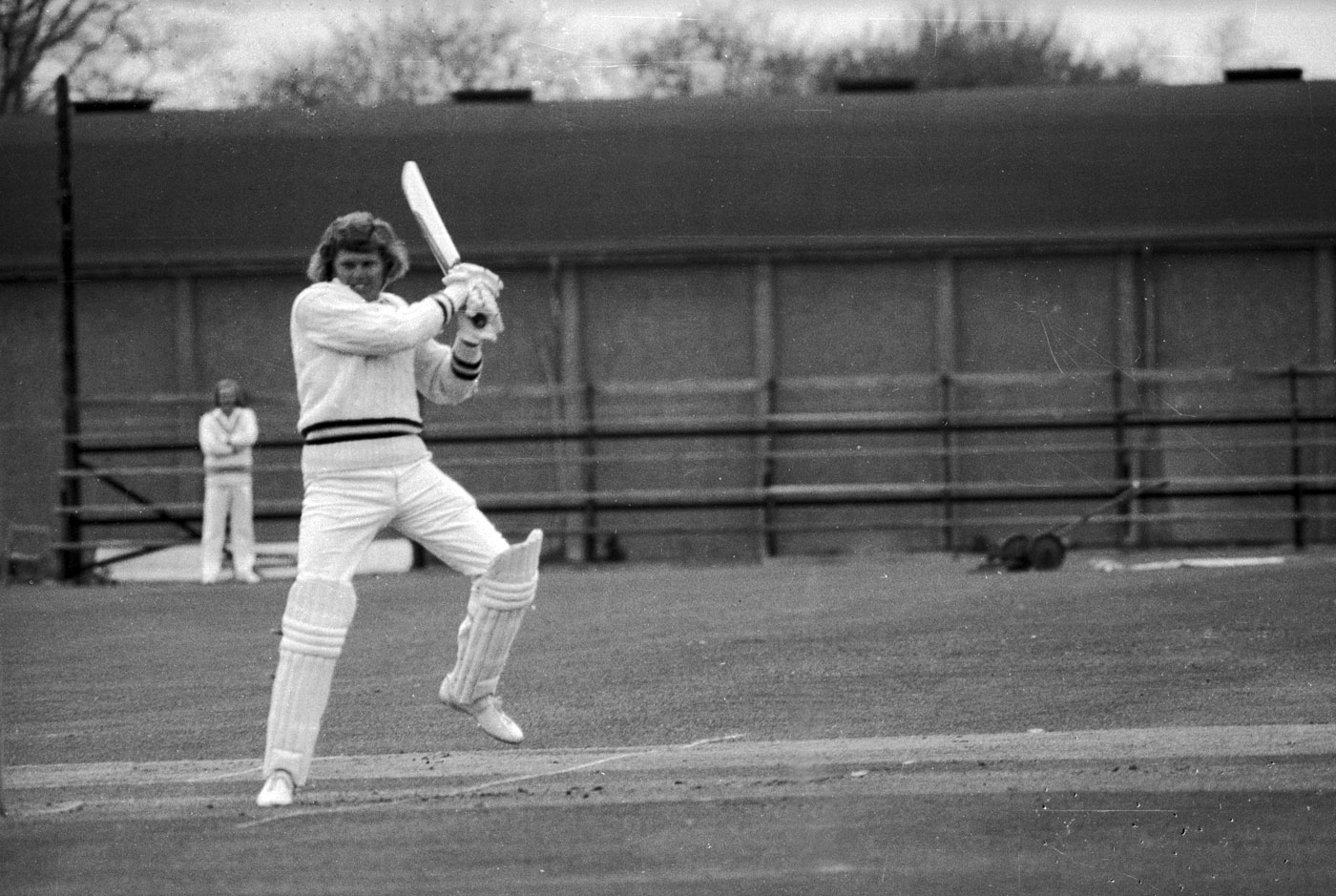 Barry Richards was being put against a formidable attack and this was indeed a testing time for a foreigner who had come to Australia to whet his most jaded appetite by playing quality cricket.