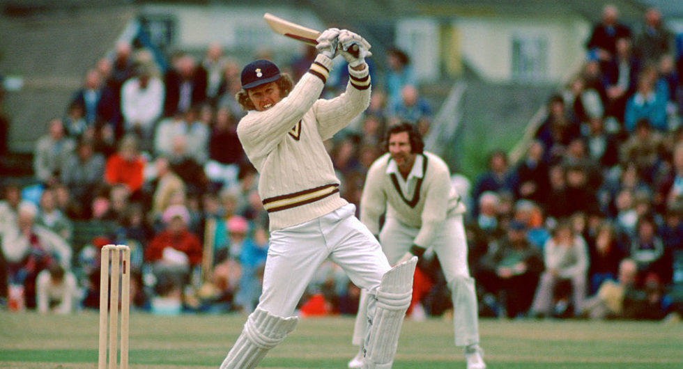 Barry Richard played only 4 Tests, in which he scored 508 runs with an average of 72.57 including 2 hundred and 2 fifties.