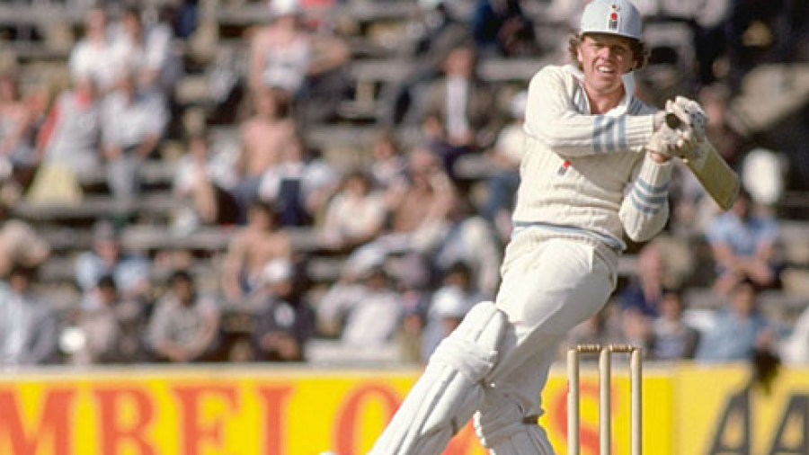 He was cricket with an astounding reputation, a man who had scored 508 runs in his first Test series against Bill Lawry's wearing Aussies during the winter of 1969-70.