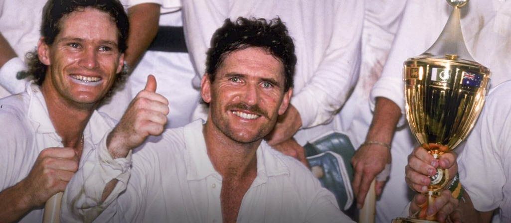 Australia's renaissance underBorderreally began with the victory at the 1987 World Cup on the subcontinent when the team came through a series of tight finishes to lift the trophy.