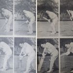 John Reid's cover drive was pure joy. This is how he executed the shot.