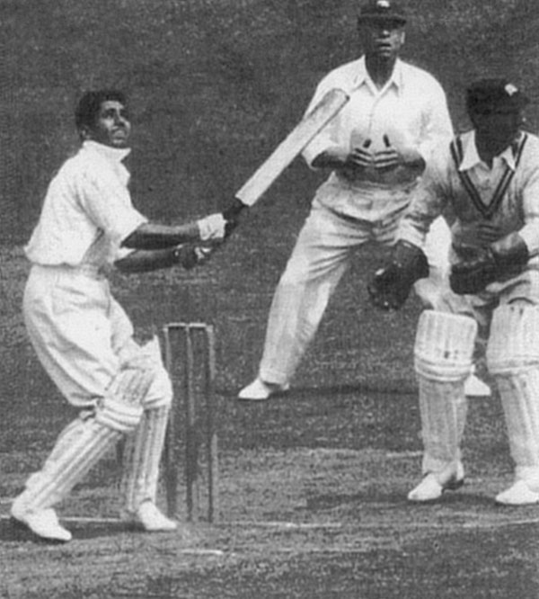 Lala_Amarnath Batting at Lord's in 1936