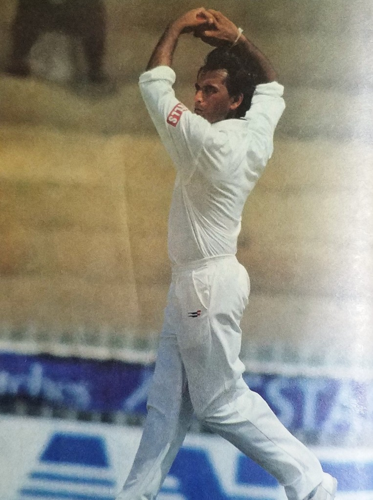 Many Indians still remembered the Rajesh Chauhan, when he hit final over six to magician Saqlain Mushtaq in the 2nd ODI at Karachi in 1997.